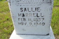Sarah Sallie <i>Burch</i> Harrell