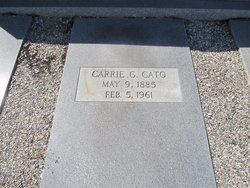 Carrie <i>Giddens</i> Cato