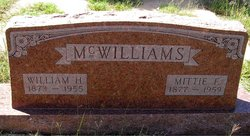 Mettie Florence <i>Westbrook</i> McWilliams