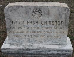 Helen <i>Fash</i> Cameron