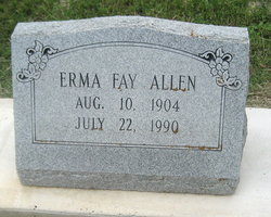 Erma Fay <i>Barnett</i> Allen
