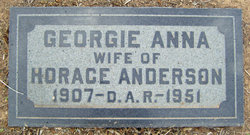 Georgie Anna Anderson