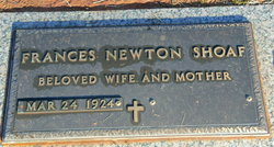Frances C. <i>Newton</i> Shoaf
