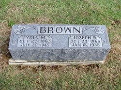 Lydia Margaret <i>Gardner</i> Brown