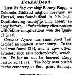 Barney Rapp