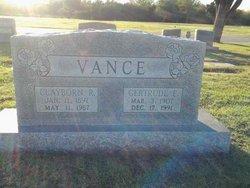 Gertrude E <i>Hatcher</i> Vance