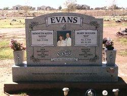 Mary Suzann Sue <i>Rose</i> Evans
