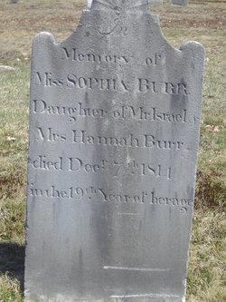 Sophy Burr