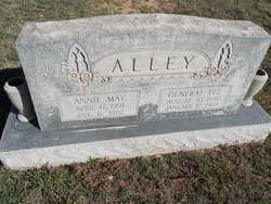 Annie May <i>Jeffcoat</i> Alley