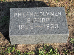 Philena W <i>Clymer</i> Bishop