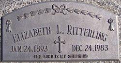 Elizabeth L Ritterling