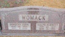 Dorothy Fern <i>Clark</i> Womack