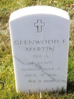Glenwood F Martin, Sr