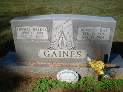 Thomas Walker Gaines