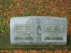 Charlotte A Lottie <i>Brindle</i> Bach