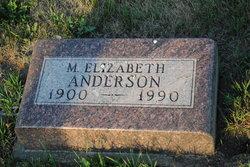 M Elizabeth Anderson