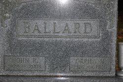 Orpha Mae <i>Douglas</i> Ballard