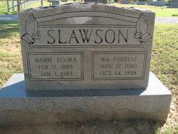 Mamie Elvira <i>Finley</i> Slawson