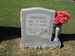 Infant Son Freeman
