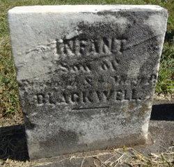 Infant Son Blackwell