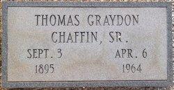 Thomas Graydon Chaffin, Sr