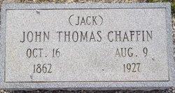 John Thomas Jack Chaffin