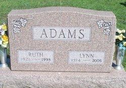Ruth Ida <i>Leesman</i> Adams