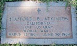 Stafford B Atkinson