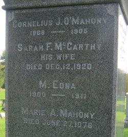 Cornelius J. O'Mahony