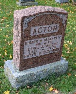Homer W. Acton