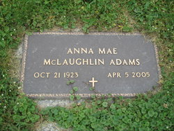 Anna Mae <i>McLaughlin</i> Adams