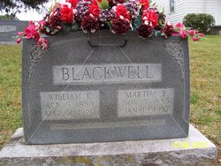 Martha Mattie <i>Poore</i> Blackwell