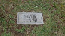 Alva Lewis Marburger