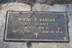 Wayne P Barger