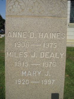 Anne <i>Dealy</i> Haines