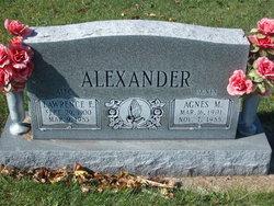 Agnes M <i>Brown</i> Alexander