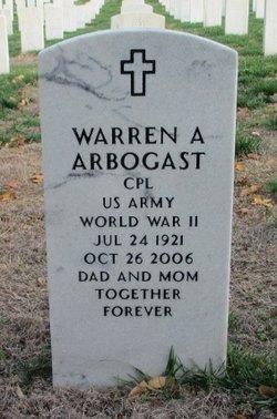 Warren A Arbogast