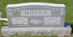 Althea Jennie Elizabeth <i>Christensen</i> Mount