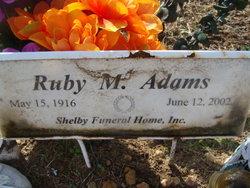 Ruby May <i>Presson</i> Adams