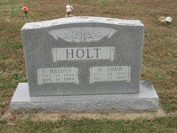 Hayden Holt, Jr