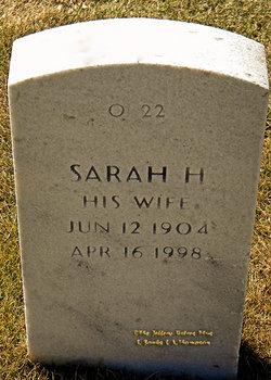 Sarah H Bedford