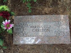 Martha Ella <i>Renfro</i> Carlton
