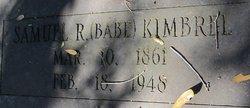 Samuel Roscoe Babe Kimbrel
