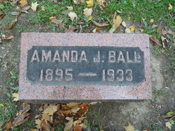 Amanda Jane Mandy <i>Hartley</i> Ball