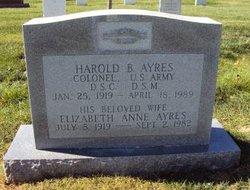 Harold B Ayres