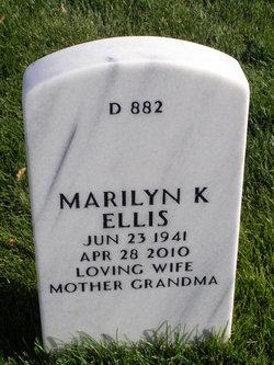 Marilyn Kae <i>Matthews</i> Ellis