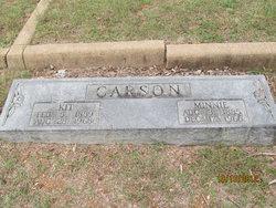 Minnie Haseltine <i>Grant</i> Carson