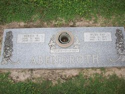Bertie Randolph Abendroth, Sr