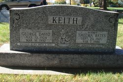 Thelma Mavis <i>Bates</i> Keith