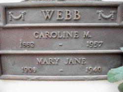 Mary Jane Webb